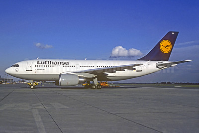 Lufthansa Airbus A310-304 D-AIDD (msn 488) FRA (Christian Volpati Collection). Image: 934452.