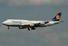 """Lufthansa's """"Siegerflieger"""" brings the winning German World Cup team home"""
