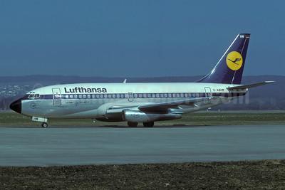 Lufthansa Boeing 737-230 D-ABHM (msn 22138) ZRH (Rolf Wallner). Image: 935450.