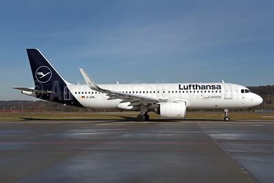 Lufthansa Airbus A320-271N WL D-AINL (msn 8383) ZRH (Rolf Wallner). Image: 945642.