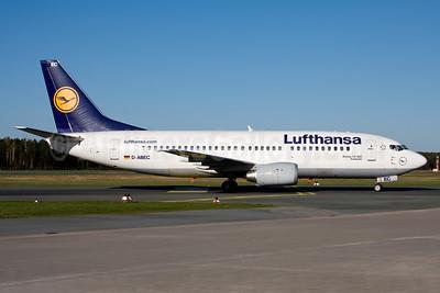 Lufthansa Boeing 737-330 D-ABEC (msn 25149) NUE (Gunter Mayer). Image: 936542.