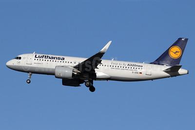 Lufthansa Airbus A320-271N WL D-AINC (msn 6920) LHR (SPA). Image: 940685.