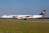 "Lufthansa's 2016 ""F.C. Bayern Munchen"" logo jet (left side)"