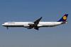 Lufthansa Airbus A340-642 D-AIHE (msn 540) FRA (Paul Bannwarth). Image: 920994.