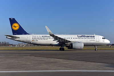 """First ti fly A320neo"""