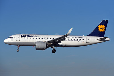 Lufthansa Airbus A320-271N WL D-AINA (msn 6801) (First to fly A320neo) ZRH (Rolf Wallner). Image: 938654.