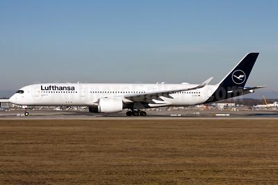 Lufthansa Airbus A350-941 D-AIXL (msn 255)  MUC (Gunter Mayer). Image: 955203.