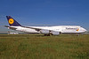 Lufthansa - Fanhansa Boeing 747-830 D-ABYO (msn 37841) FRA (Jacques Guillem Collection). Image: 934456.