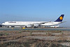 Lufthansa Airbus A340-642 D-AIHW (msn 972) LAX. Image: 910226.