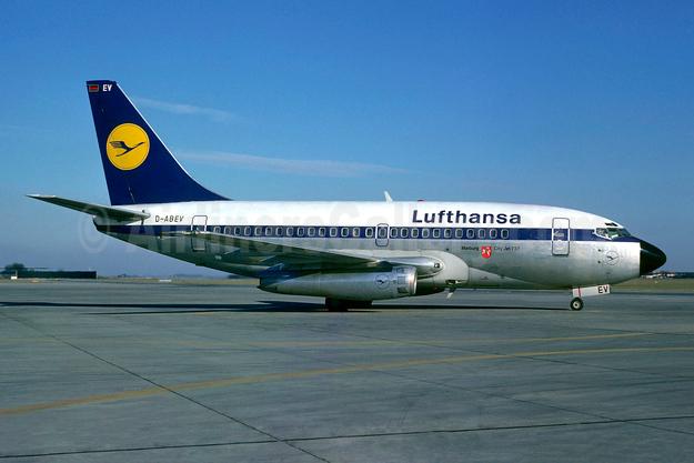 Lufthansa Boeing 737-130 D-ABEV (msn 19032) (Christian Volpati). Image: 904027.