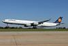 Lufthansa Airbus A340-642 D-AIHM (msn 762) CLT (Jay Selman). Image: 402164.