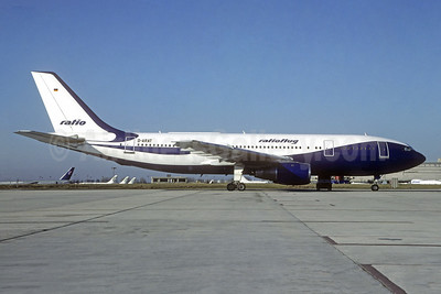 Ratioflug Airbus A300B2-1C D-ARAT (msn 102) CDG (Christian Volpati). Image: 945476.
