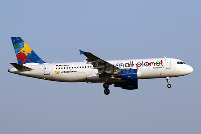 Small Planet Airlines (Germany) Airbus A320-214 D-ABDB (msn 2619) (Neckermann Reizen) PMI (Javier Rodriguez). Image: 941833.
