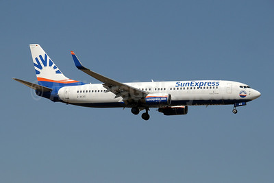 SunExpress Airlines (Germany) Boeing 737-8AS WL D-ASXS (msn 33563) AYT (Paul Denton). Image: 909140.