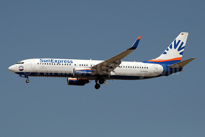 SunExpress Airlines (Germany) Boeing 737-8CX WL D-ASXG (msn 32366) AYT (Paul Denton). Image: 909142.