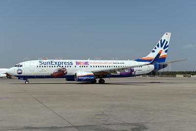 SunExpress Airlines (Germany) Boeing 737-8CX WL D-ASXG (msn 32366) (Home) AYT (Ton Jochems). Image: 929589.