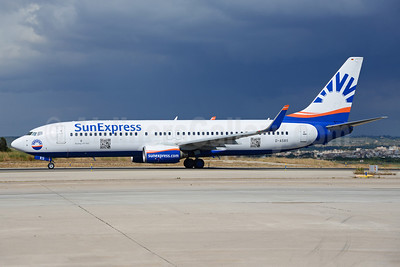 SunExpress Airlines (Germany) Boeing 737-8AS WL D-ASXS (msn 33563) PMI (Ton Jochems). Image: 921233.