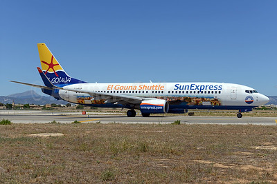 SunExpress Airlines (Germany) Boeing 737-8HX WL D-ASXP (msn 29684) (El Gouna Shuttle) PMI (Ton Jochems). Image: 937264.