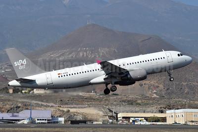 Sundair Airbus A320-214 D-ASEE (msn 4953) TFS (Robbie Shaw). Image: 940883.
