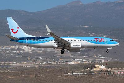 TUI  (Germany) Boeing 737-8K5 SSWL D-ATYA (msn 37257) TFS (Wingnut). Image: 946270.