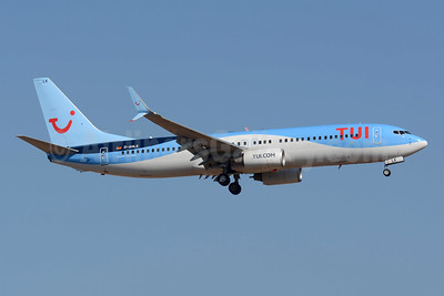 TUI  (Germany) Boeing 737-8K5 SSWL D-AHLK (msn 35143) PMI (Richard Vandervord). Image: 954487.