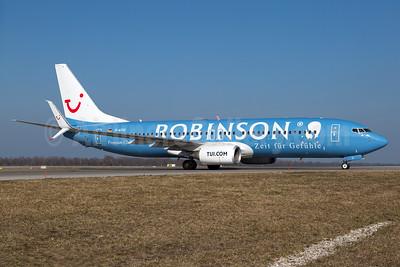 TUI (TUI.com) (Germany) Boeing 737-8K5 SSWL D-ATUI (msn 37252) (Robinson Premium Club Resorts) MUC (Arnd Wolf). Image: 932166.