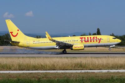 TUIfly (TUIfly.com) (Germany) Boeing 737-8K5 WL D-AHFV (msn 30415) BSL (Paul Bannwarth). Image: 938845.