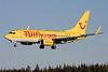 TUIfly (TUIfly.com) (Germany) Boeing 737-7K5 WL D-AHXF (msn 35136) ARN (Stefan Sjogren). Image: 900736.
