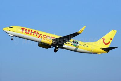 "TUIfly (TUIfly.com) (Germany) Boeing 737-8K5 WL D-AHFI (msn 27984) ""96"" CFU (Antony J. Best). Image: 930128."