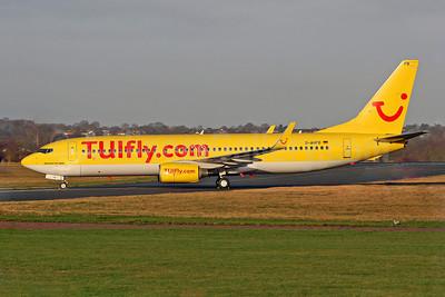 TUIfly (TUIfly.com) (Germany) Boeing 737-8K5 WL D-AHFD (msn 27978) SEN (Keith Burton). Image: 901103.