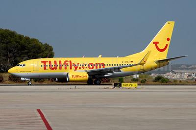TUIfly (TUIfly.com) (Germany) Boeing 737-7K5 WL D-AHXJ (msn 35277) PMI (Ton Jochems). Image: 953676.