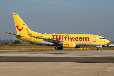TUIfly (TUIfly.com) (Germany) Boeing 737-7K5 WL D-AHXH (msn 35282) PMI (Ton Jochems). Image: 953675.