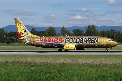 "TUIfly's 2014 ""Haribo Goldbaren"" promotional liivery"