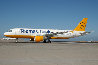 Thomas Cook Airlines (Germany) - Condor Berlin Airbus A320-212 D-AICG (msn 957) TFS (Ton Jochems). Image: 953492.