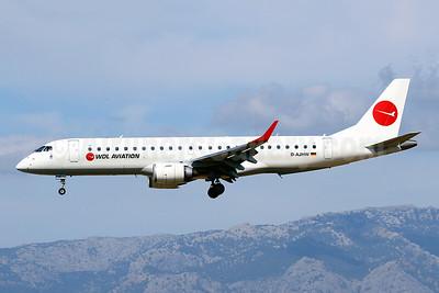 WDL Aviation Embraer ERJ 190-100LR D-AJHW (msn 19000061) PMI (Javier Rodriguez). Image: 948125.