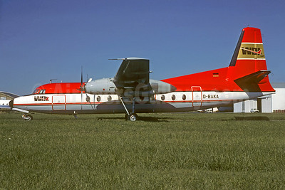 WDL Aviation Fokker F.27 Mk. 100 D-BAKA (msn 10198) (LTU colors) TLS (Jacques Guillem Collection). Image: 935052.
