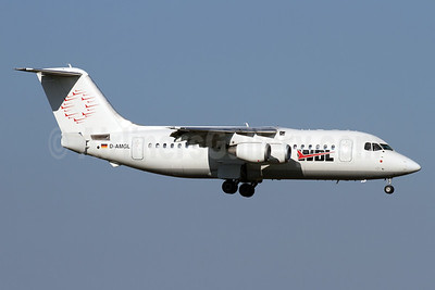 WDL Aviation BAe 146-200 D-AMGL (msn E2055) ZRH (Andi Hiltl). Image: 935051.