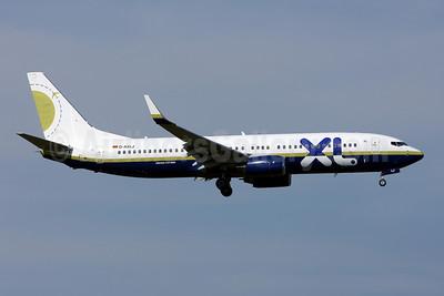 XL.com (XL Airways Germany) Boeing 737-81Q WL D-AXLJ (msn 30619) (Miami Air colors) ZRH (Andi Hiltl). Image: 906451.