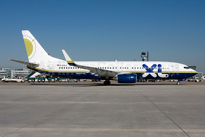 XL.com (XL Airways Germany) Boeing 737-81Q WL D-AXLJ (msn 30619) (Miami Air colors) DUS (Michael Stappen). Image: 906217.