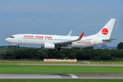 XL Airways (Germany) Boeing 737-8Q8 WL D-AXLF (msn 28218) (Oger Turk Tur) DUS (Eurospot). Image: 909077.