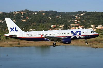 XL.com (XL Airways Germany) Airbus A320-214 D-AXLB (msn 1860) (USA 3000 colors) CFU (SPA). Image: 945167.