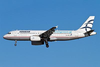 Aegean Airlines Airbus A320-232 SX-DGI (msn 3162) (visitgreece.com) MUC (Arnd Wolf). Image: 907896.