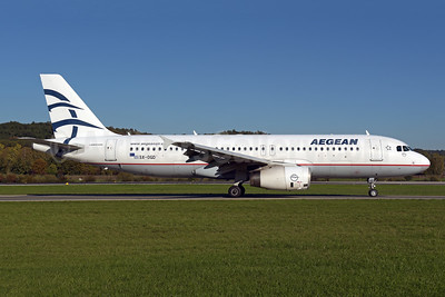 Aegean Airlines Airbus A320-232 SX-DGD (msn 4065) ZRH (Rolf Wallner). Image: 943819.
