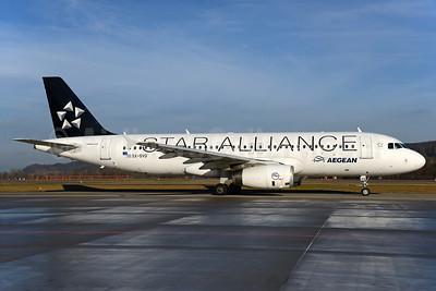 Aegean Airlines Airbus A320-232 SX-DVQ (msn 3526) (Star Alliance) ZRH (Rolf Wallner). Image: 932864.