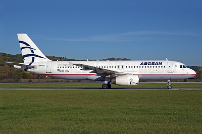 Aegean Airlines Airbus A320-232 SX-DVJ (msn 3365) ZRH (Rolf Wallner). Image: 939555.