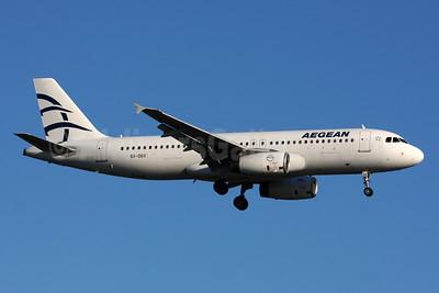 Aegean Airlines Airbus A320-232 SX-DGX (msn 1996) LGW (SPA). Image: 933967.