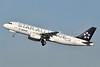 Aegean Airlines Airbus A320-232 SX-DVQ (msn 3526) (Star Alliance) LHR (Robbie Shaw). Image: 912610.