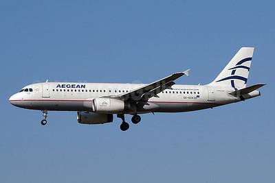 Aegean Airlines Airbus A320-232 SX-DGN (msn 2828) ZRH (Paul Bannwarth). Image: 928882.