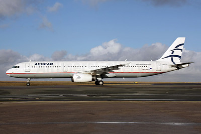 Aegean Airlines Airbus A321-232 SX-DVP (msn 3527) CDG (Christian Volpati). Image: 901240.