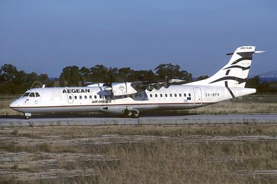 Aegean Airlines (Aegean Aviation) - Air Greece ATR 72-202 SX-BFK (msn 313) SKG (Christian Volpati Collection). Image: 953174.